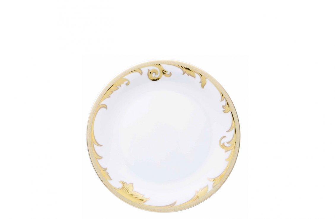 ARABESQUE GOLD PLATE 22 CM