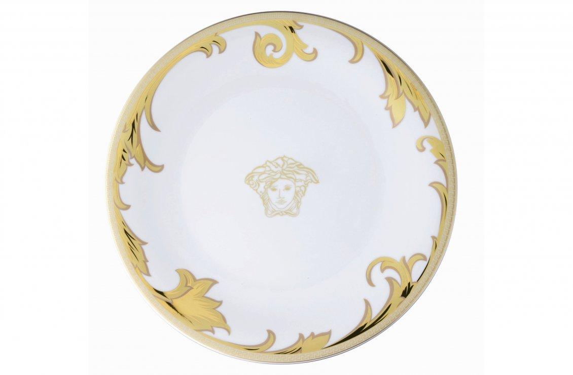 ARABESQUE GOLD PLATE 33 CM