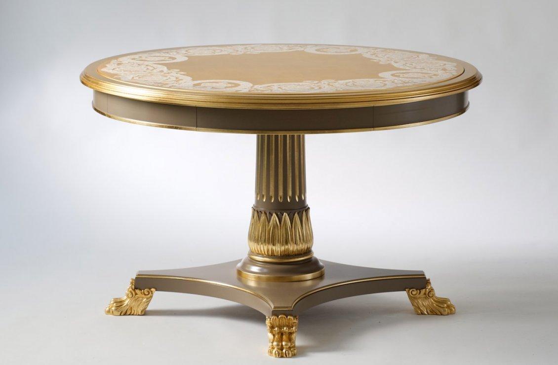 Vanitas slim dining table versace home australia for Slim dining table