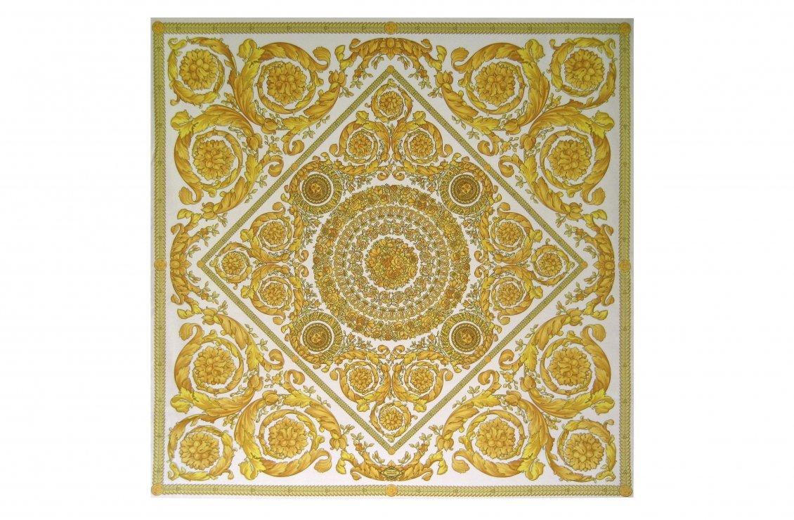 Barocco Flower Fabric Panel Versace Home Australia