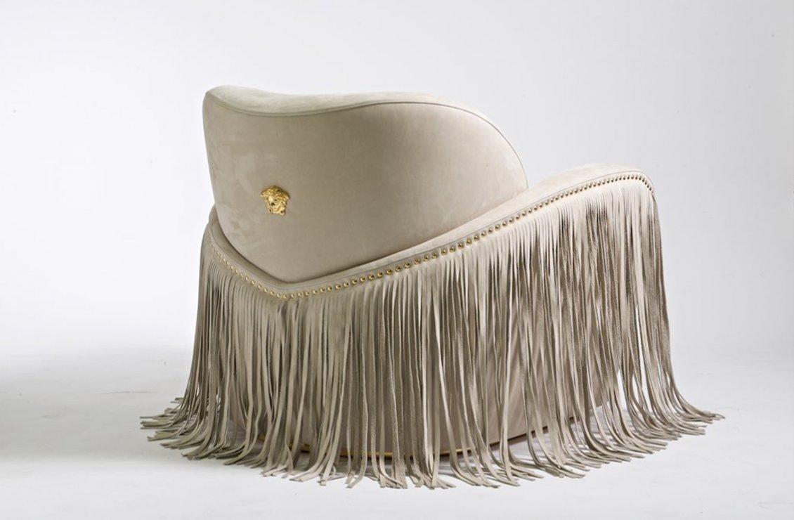 Via Gesu Side Chair Versace Home Australia