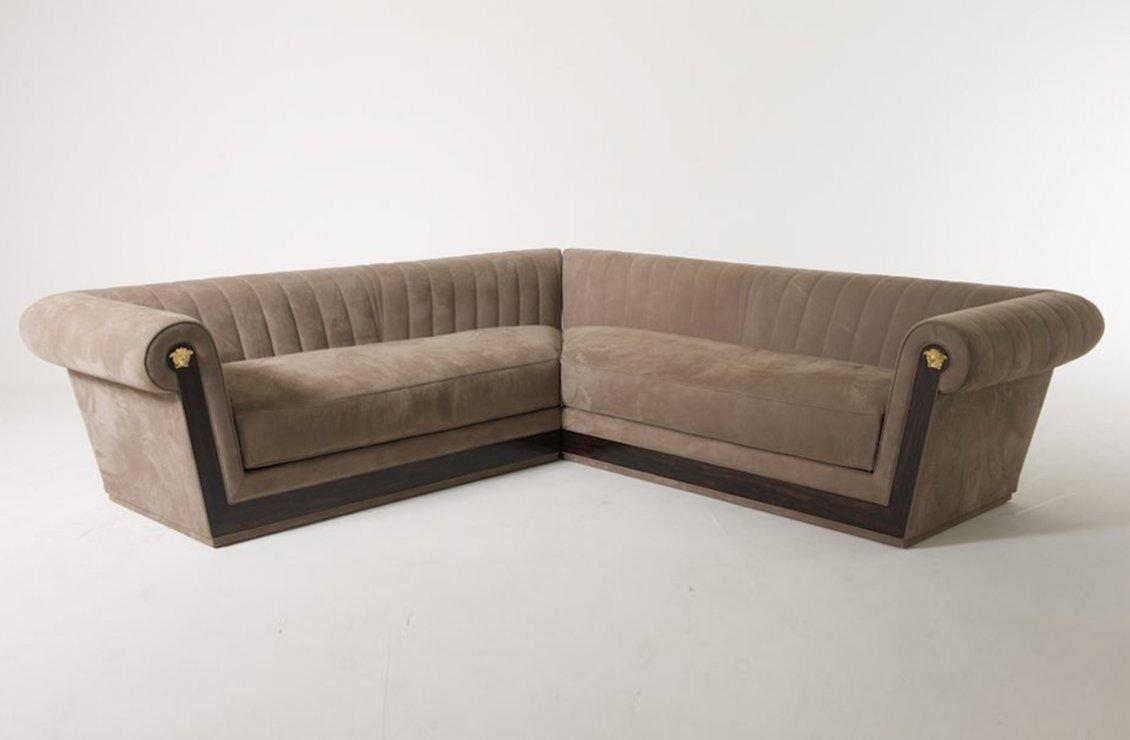 Via gesu sectional modular sofa versace home australia for Modular sofa