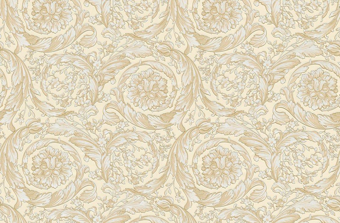 barocco flowers wallpaper versace home australia. Black Bedroom Furniture Sets. Home Design Ideas
