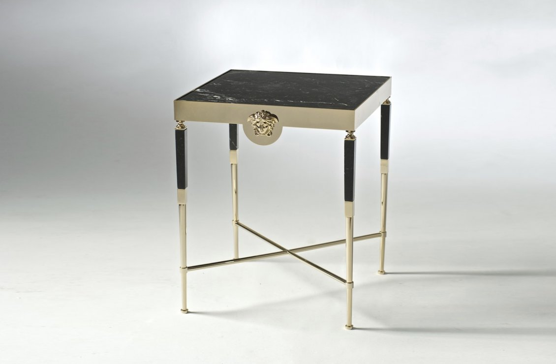 Argo side table versace home australia for Table versace