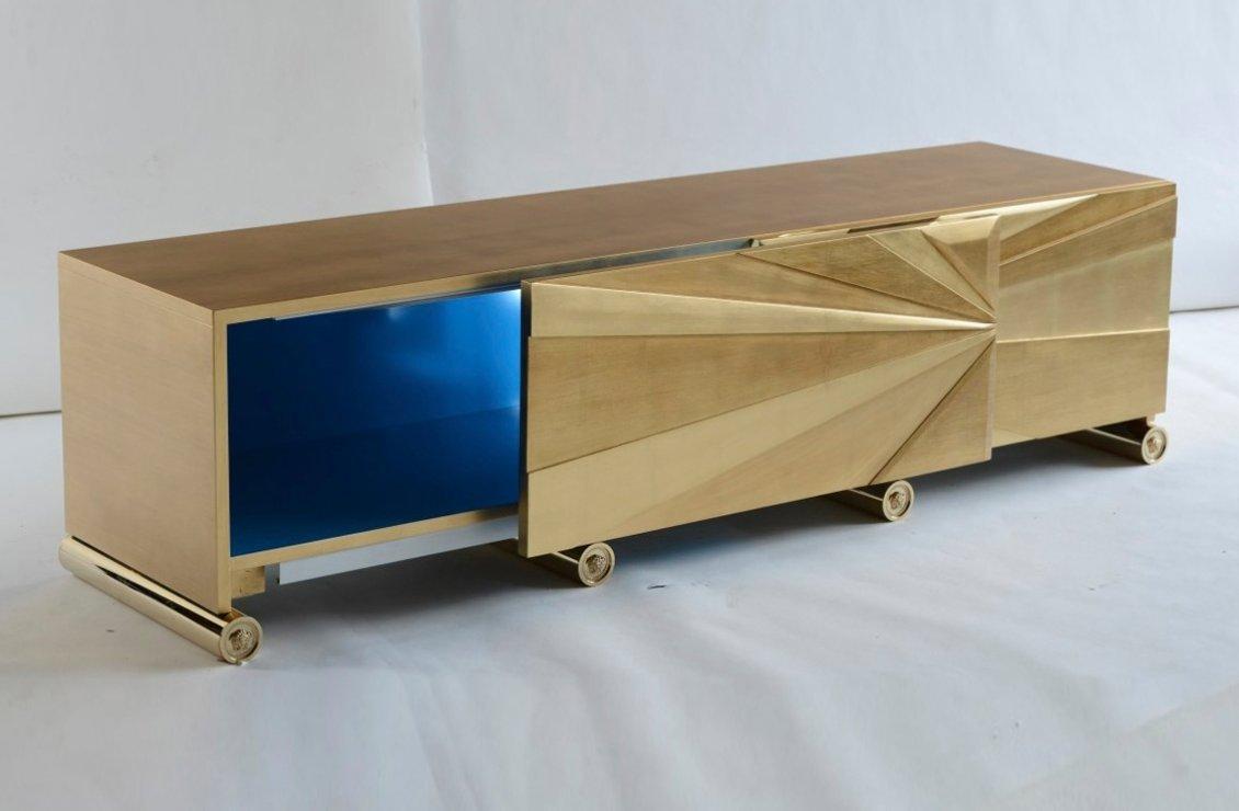 Deco vanitas side board versace home australia for Sideboard 220 cm