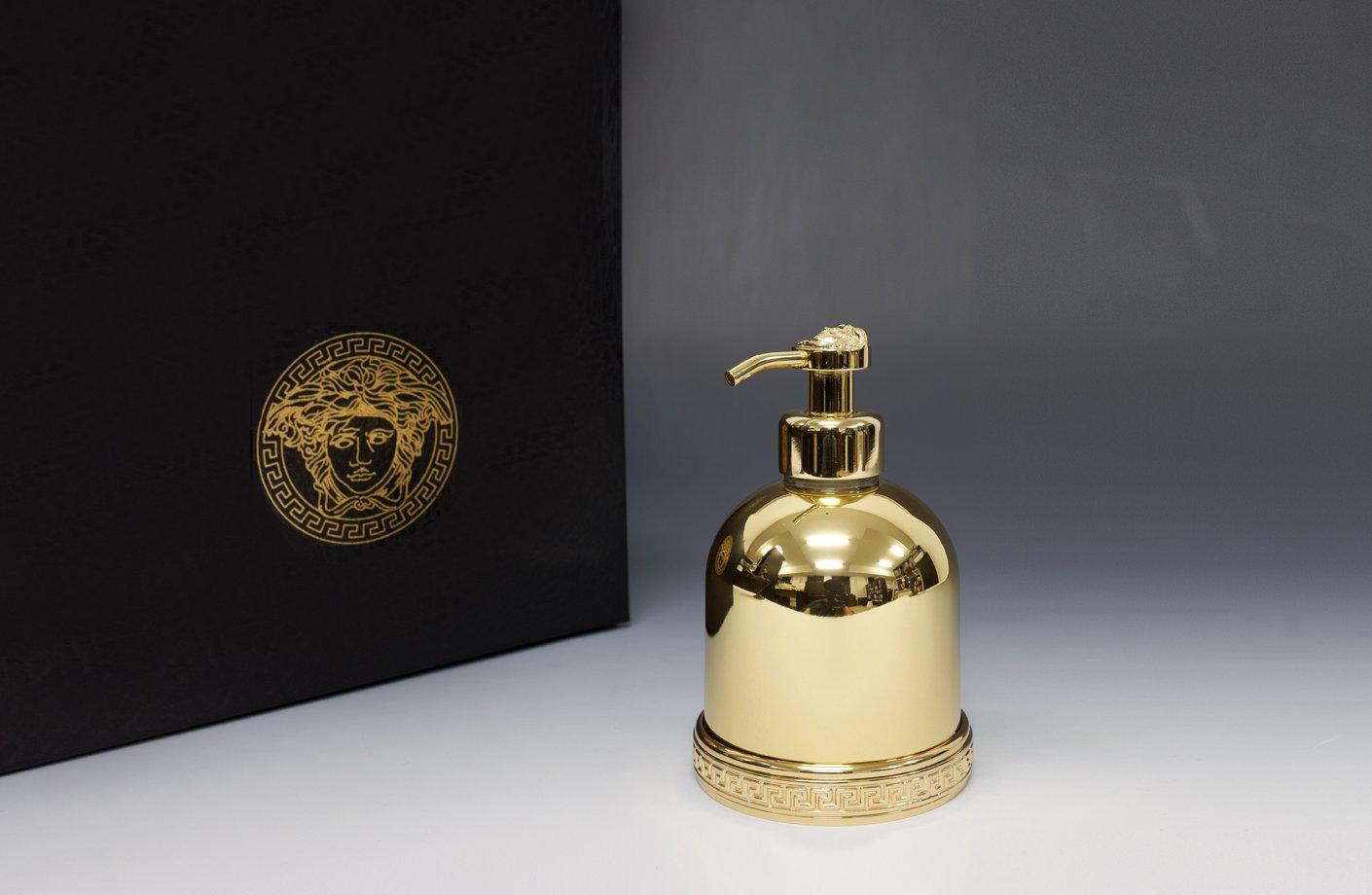 Medusa soap dispenser versace home australia for Versace bathroom accessories