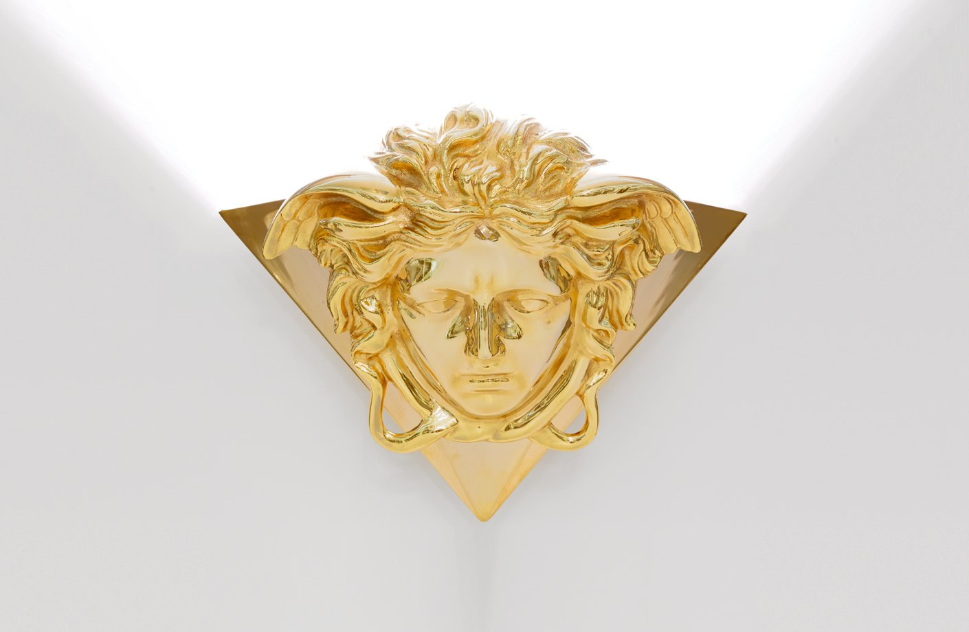 Medusa Gold Wall Light Versace Home Australia
