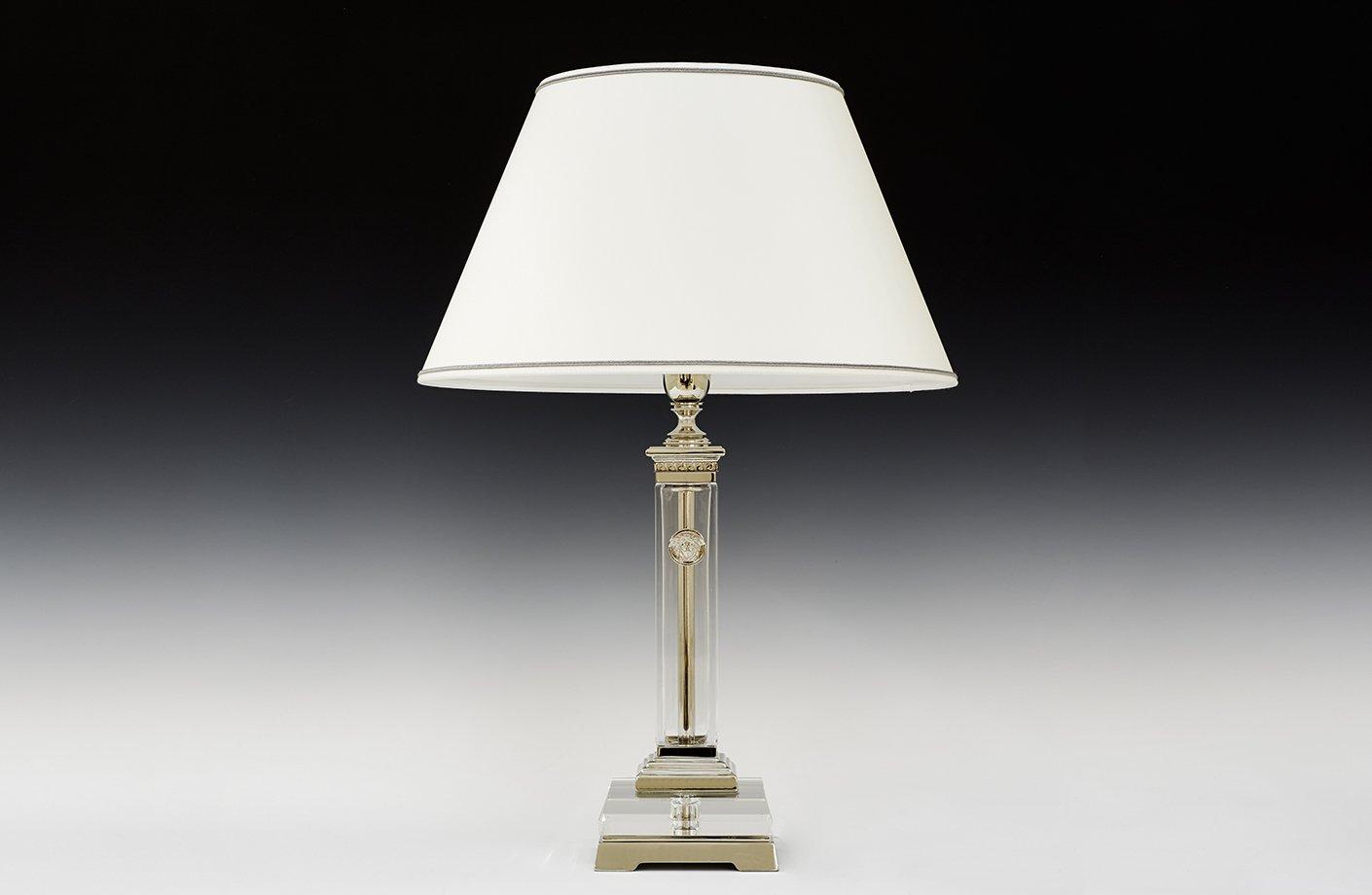 Colonna Cristallo Quadra Table Lamp Versace Home Australia