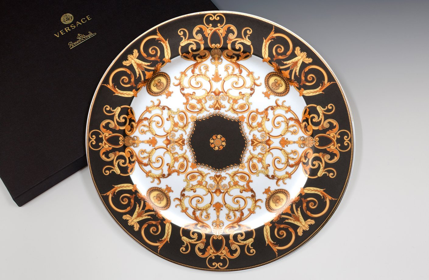 Barocco 20th Anniversary Wall Plate 30 Cm Versace Home