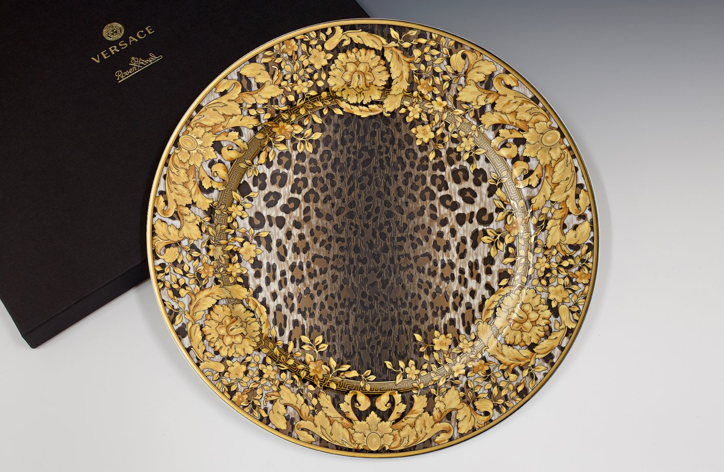 Wild Floralia 20th Anniversary Wall Plate 30 Cm Versace