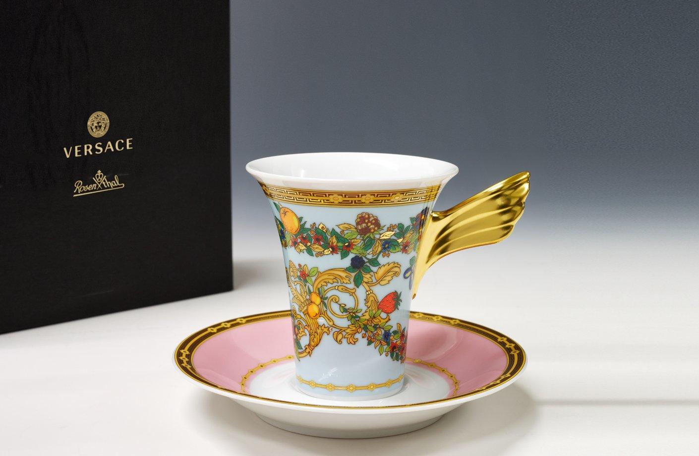 LE JARDIN DE VERSACE & LE JARDIN DE VERSACE COFFEE CUP \u0026 SAUCER | VERSACE HOME Australia