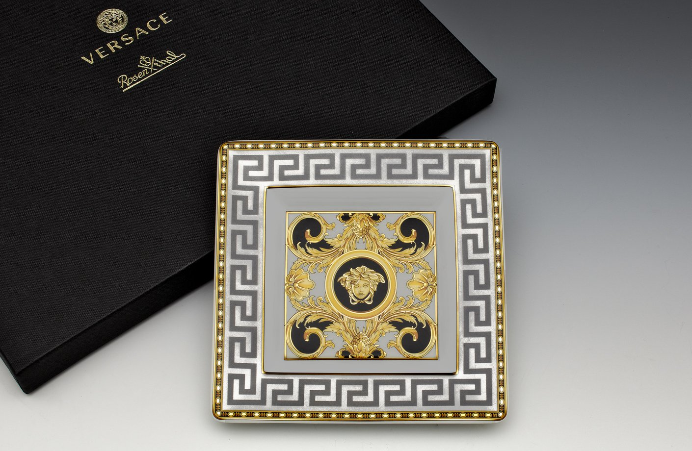Prestige Gala Dish Square 14 Cm Versace Home Australia