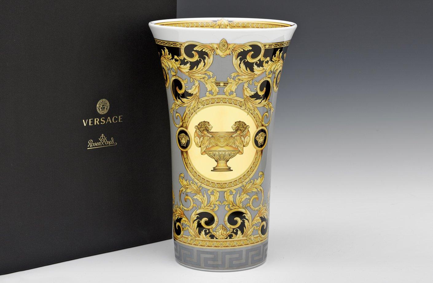 Prestige Gala Vase 34 Cm Versace Home Australia