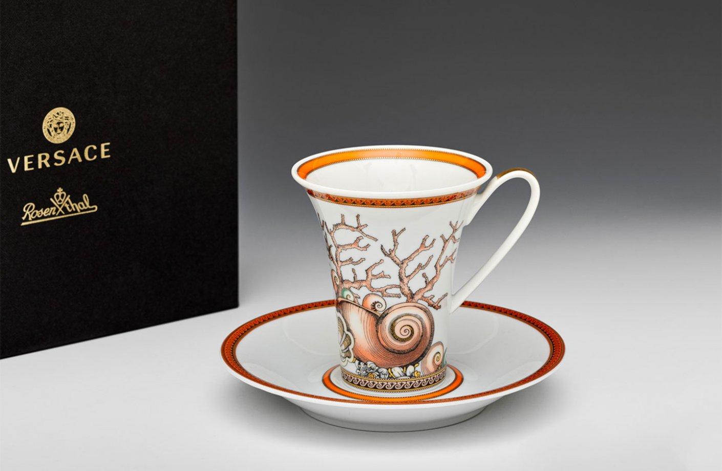 Les Etoiles De La Mer Coffee Cup Amp Saucer Versace Home
