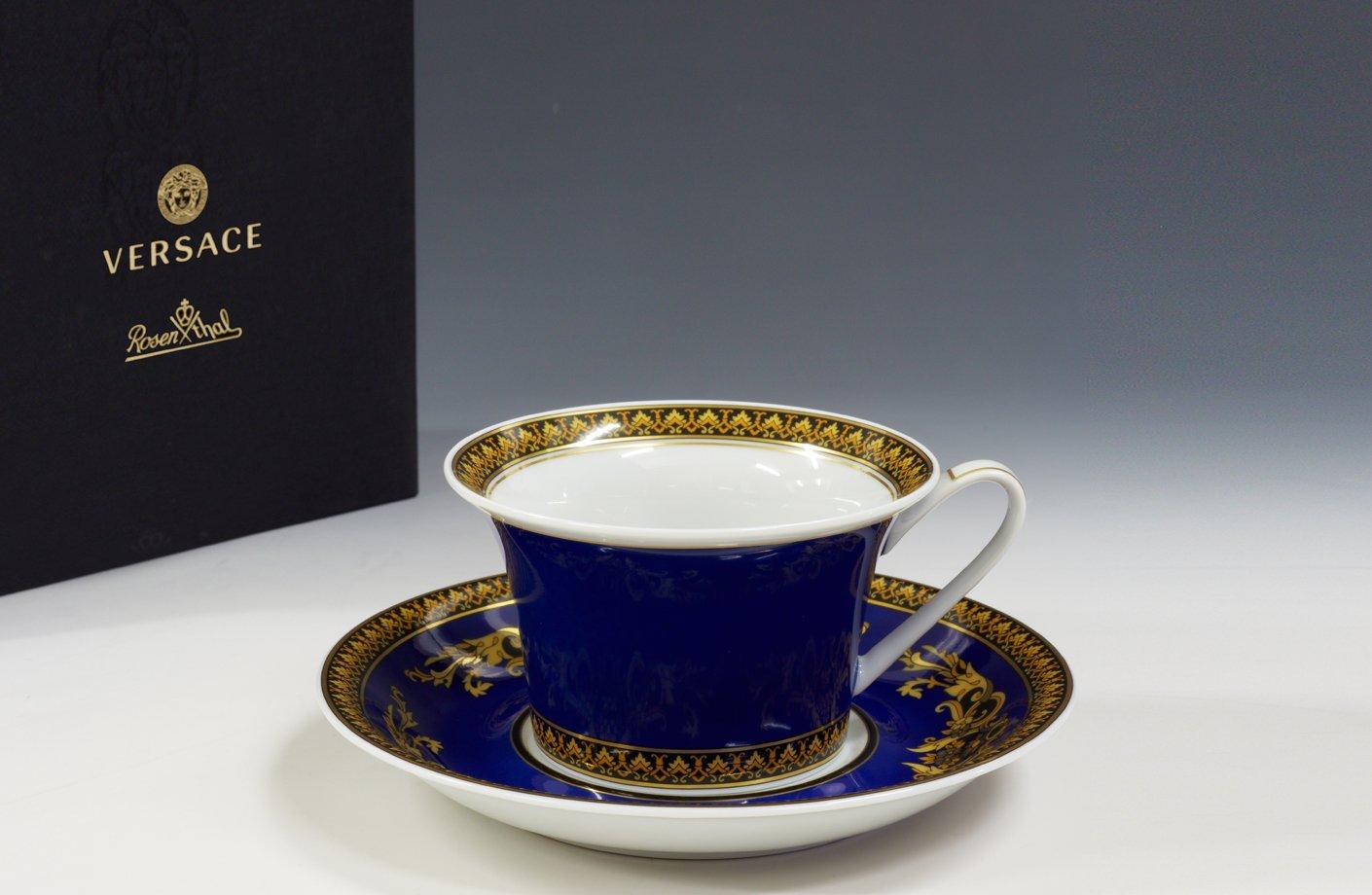 Medusa Blue Tea Cup Amp Saucer Versace Home Australia